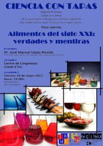 Ciencia con tapas 19-05-17_Alimentos del siglo XXI