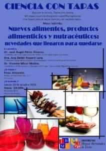 ciencia-con-tapas-13-10-16-nuevos-alimentos-productos-alimenticios-y-nutraceuticos